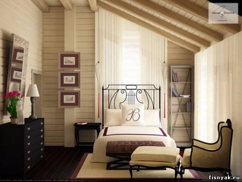 Интерьер деревянного дома, интерьер дома или квартиры поможет наша...