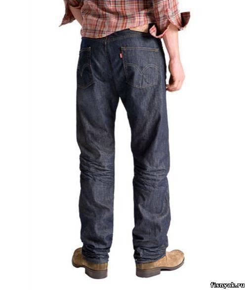 ...что самые редкие и дорогие джинсы - знаменитая 501-я модель компании...