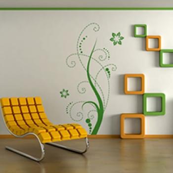 Наклейки на стены различаются тематикой, размерами и яркостью.