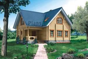 Дома из бревна.  Стоимость строительства от 1 800 000 рублей. по...