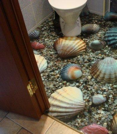 3D полы в доме 19 фото.